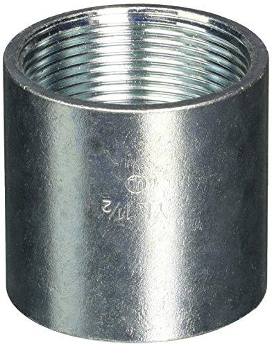 Halex 64015–Schaukelgestell Kupplungen starr und Mittelschneider Metallic Kabelschutzrohr (IMC) Beschläge Stahl (5Stück), 1–1/5,1cm