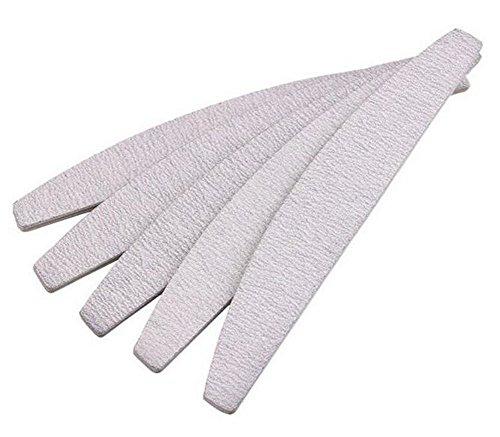 Packung mit 10 Nagelfeile Waschbar Doppelseitige Nagelfeile Grit Gel Kosmetik Maniküre Pediküre Nail Art Tipps Schleifen Pufferung Dateien Größe 100/180 -