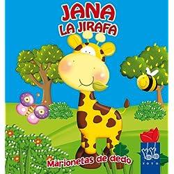Jana la jirafa: Marionetas de dedo (Marionetas dedo)
