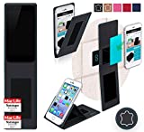 Obi Worldphone MV1 Hülle Cover Case in Schwarz Leder -