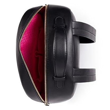 51pZr hvYrL. SS416  - Tous Higgins, Bolso mochila para Mujer, (Negro 695890197), 27.5x33x11.5 cm (W x H x L)