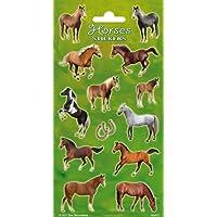 Peterkin 5110 Horses Stickers, Multicolour
