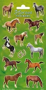 speel Goed 1100472-Stickers Caballos