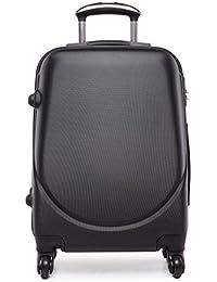 "Kono carcasa pequeña cabina tamaño maleta 4ruedas Spinner Bolsa de viaje equipaje de ABS Lightweigt 20"""