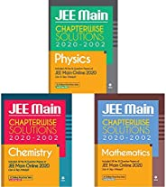 18 Years Chapterwise Solutions for JEE Main Physics , Chemistry and Mathematics 2021 (Set of 3 Books)