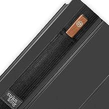 Lápiz capacitivo Sling amplia–Soporte para lápiz capacitivo grande lápiz lápices táctiles (53, bambú Fineline, 10mm de ancho lápices) negro negro 9,7 pulgadas