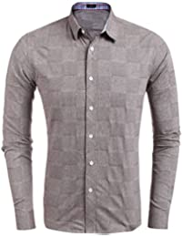 de28532ee31f Burlady Hemden Herren Karriert Trachtenhemden Regular Fit Langarm Männer  Freizeithemden Karohemden Plaid Shirt Oberteil Oktoberfest