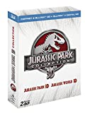 Jurassic Park 3D + Jurassic World 3D [Blu-ray 3D & 2D + Copie digitale]