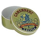 Bia Kuh Kopf des Camembert Baker und, grün/blau und rot