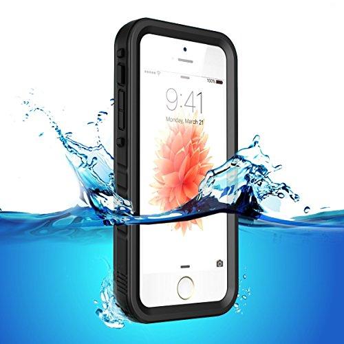 """Coque iPhone SE/5S/5 ,Coque de protection en TPU Étanche anti-poussière Etanche Imperméable et incassable pour iPhone SE/5S/5C/5 4"""""""