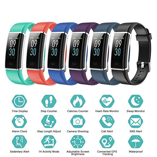 Zoom IMG-3 lintelek fitness tracker watch schermo