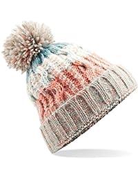 583 Winter Bobble Hat Beanie - Ski Snowboard Chunky Knit Unisex Men's Women's