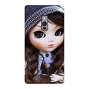 Special Sweet Angel Doll Multicolor Back Case Cover for OnePlus Two