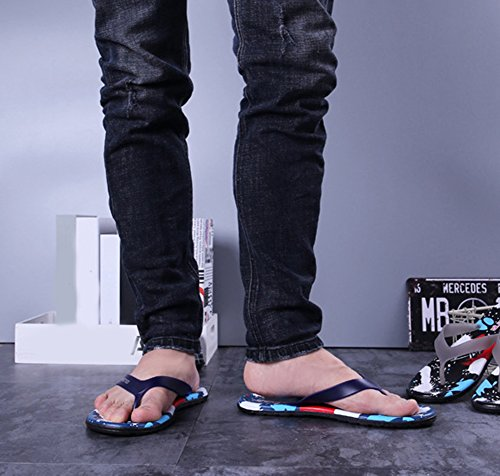 Scothen Sommer Sandale,Unisex Herren Jungen Clog Breathable Mesh Sommer Sandalen Strand Aqua,Walking,Anti-Rutsch Hausschuhe Garden Clogs Shoes Mens Garden Shoes Unisex Adult Sandals Slippers Slip Blau