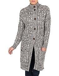 Wool Overs cardigan long irlandais Femme