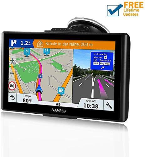 GPS para Coche Pantalla Táctil de 7 Pulgadas Navegador GPS Mapas de...