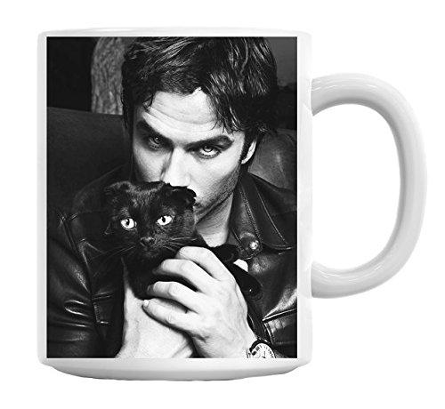 Ian Somerhalder Vampire Diaries Mug Cup