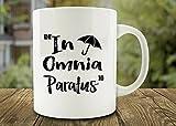 Cbuyncu Christmas Holiday in Omnia Paratus Old proverbi tazza di ceramica tazza di latte tazza da caffè tazza tè caldo tazza da viaggio regalo personalizzato per donne, uomini, ragazzi, lui, Lei, Dad, Son, Daughter, mamma, Friends Office supply