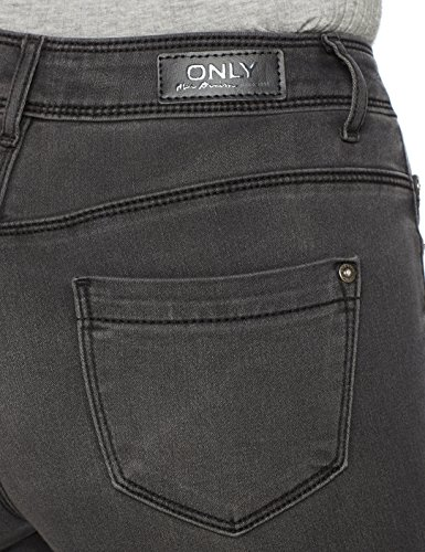 ONLY Damen Skinny Jeans Grau (Medium Grey Denim Medium Grey Denim)
