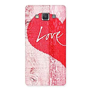 Enticing Love Pink Multicolor Back Case Cover for Galaxy Grand 3