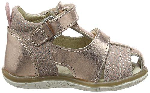 Noël Mini Lolly, Chaussures Bébé marche bébé fille Or (98 Cuivre)