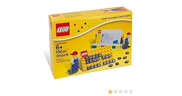 Lego 850425 desk business card holder amazon toys games reheart Gallery