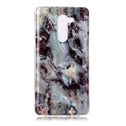 NEXCURIO Huawei Honor 6X Hülle Marmor Silikon, Schutz Handy Hülle Handytasche HandyHülle Stoßfest Kratzfest Etui Schale Schutzhülle Weich Bumper Case Cover für Huawei Honor 6X - NEYHU10874#12
