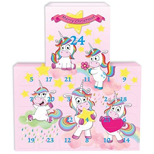 25sorprese. XXL Calendario dell' Avvento Bath & Body–Handmade in Germany–direttamente dal produttore–Divertente Unicorni