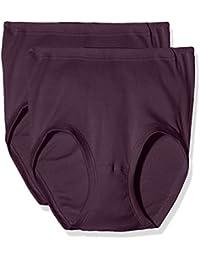 Schiesser Starlet Taillenslip (2 Pack), Culottes / Slips Emboîtant / à Taille Haute Femme, (lot de 2 )