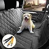 Morpilot Cubierta del asiento para el banco del coche Coche impermeable del perro Coche la cubierta universal del asiento Tamaño (negro)