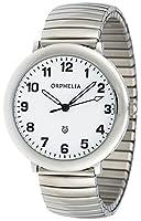 ORPHELIA de mujer reloj de pulsera Time Keeper analógico de cuarzo Acero inoxidable