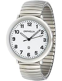 Orphelia Damen-Armbanduhr Time keeper Analog Quarz Edelstahl