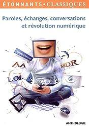 Paroles, échanges, conversations et révolution numérique : Pack avec Fiche pédagogique