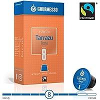 Gourmesso Tarrazu Forte - 10 Nespresso kompatible Kaffeekapseln - Fairtrade