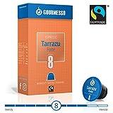 Gourmesso Tarrazu Forte (intensité 8) - 10 Capsules de café compatibles Nespresso - Café équitable