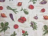 Provencestoffe.com Wunderschöner Dekostoff Légume,