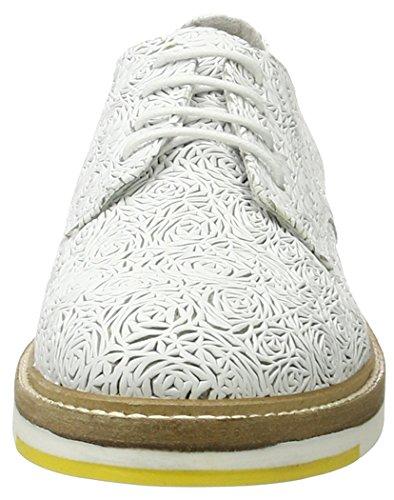 Bronx Bx 1260 Bmigox, Chaussures à lacets femme Weiß (White)