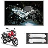#6: Vheelocityin 10cm Neon Bike Light White - 2pc
