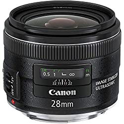 Canon EF 28mm f/2.8 is USM Objectif Grand Angle - Fixé (rennewed)