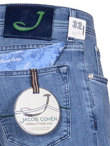 Jacob Cohen Herren Jeanshose blau Denim Denim
