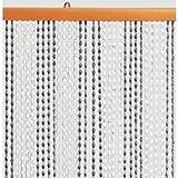"Kunststoffperlenvorhang ""Astor"" 100 x 200 cm braun/beige Brema 119"