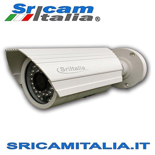 TELECAMERA WIFI IP CAMERA WIRELESS INFRAROSSI 1.0 Megapixel HD IR
