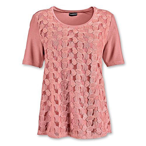 SAMOON Gerry Weber Damen T-Shirts Lachs