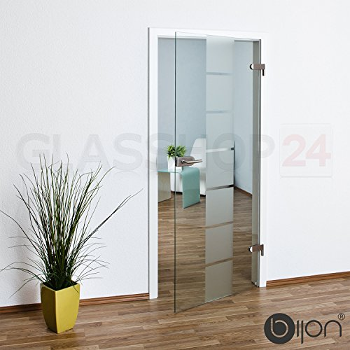 bijon® Glastür T1 | Studio/Studio | 584x1972mm | DIN Links