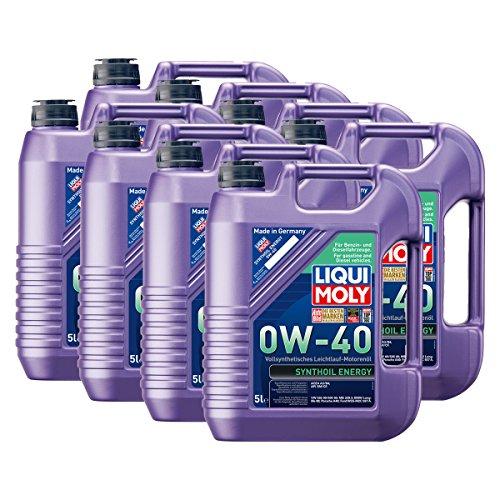Preisvergleich Produktbild 8x LIQUI MOLY 1361 Synthoil Energy 0W-40 Motoröl Vollsynthetisch 5L