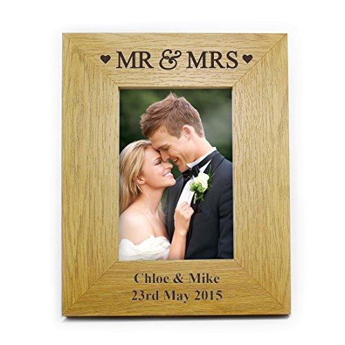 oak-finish-6x4-mr-mrs-frame-personalised-personalise-this-6x4-oak-finish-mr-mrs-frame-with-2-lines