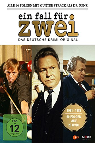 Ein Fall für Zwei - Günter Strack Box (23 Discs) Wind Paket