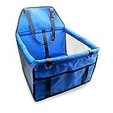 Wasserdichte Hund Sitzbezug Pad Folding Safe Tragetasche Für Kleine mittelgroße Hunde Hängematte Auto Matte Pet Reise Träger 40 * 30 * 25 cm (Blau)