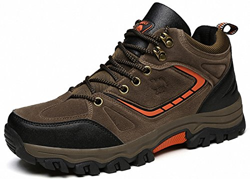 Ben Sports Chaussures de Randonnée Running Trail Sports Femme Homme C-Marron
