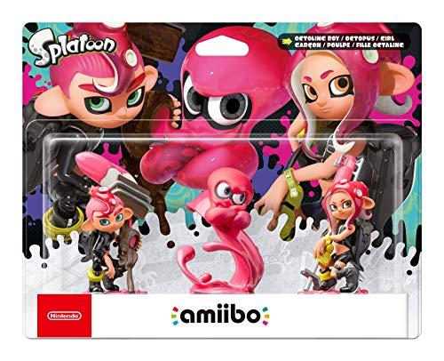 Nintendo - Amiibo Octoling Chico, Chica, Pulpo [Pack de 3] (precio: 36,99€)